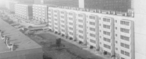 fertiggestellte Wohnblocks
