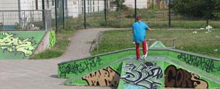 Congrav engagiert sich für Skatepark