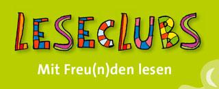 Logo des Leseclubs. Der Kinderschutzbund eröffnet den Leseclub gefördert durch die Bundesregierung auf der Silberhöhe.